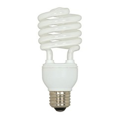 20-Watt Cool White Mini Compact Fluorescent Light Bulb