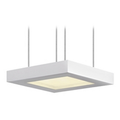 Sonneman Lighting Chromaglo Satin White LED Mini-Pendant Light