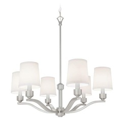 Norwell Lighting Roule Polished Nickel Chandelier