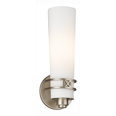 Single-Light Fluorescent Sconce