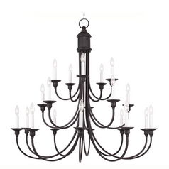 Livex Lighting Cranford Olde Bronze Chandelier