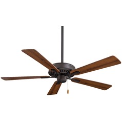 52-Inch Minka Aire Contractor Plus Oil Rubbed Bronze Ceiling Fan Without Light