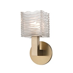 Hudson Valley Lighting Sagamore Aged Brass LED Sconce
