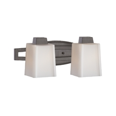 Two-Light Sconce with Square Shades