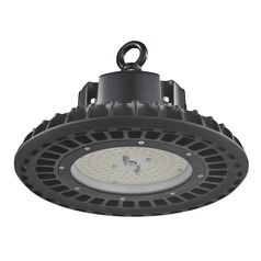 UFO LED High Bay Light Black 60-Watt 120v-277v 8150 Lumens 4000K 120 Degree Beam Spread