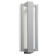Kichler Lighting Sedo Platinum LED Outdoor Wall Light