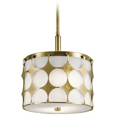 Kichler Lighting Charles Pendant Light with Drum Shade