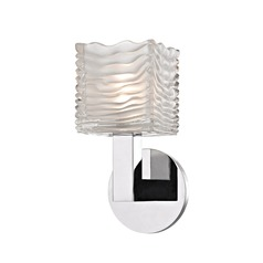 Hudson Valley Lighting Sagamore Polished Chrome LED Sconce