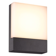 Arnsberg Pecos Dark Grey LED Outdoor Wall Light