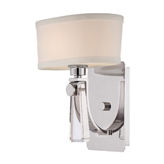 Sconce Wall Light in Imperial Silver Finish