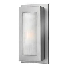 Hinkley Lighting Titan Titanium LED Outdoor Wall Light