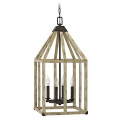 Hinkley Lighting Emlilie Iron Rust Pendant Light