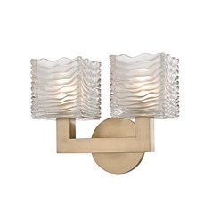 Hudson Valley Lighting Sagamore Aged Brass LED Bathroom Light