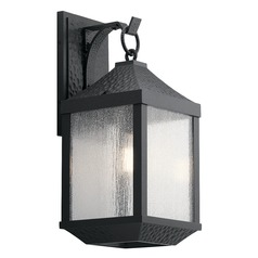 Kichler Lighting Springfield Distressed Black Outdoor Wall Light
