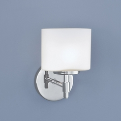 Norwell Lighting Moderne Chrome Sconce