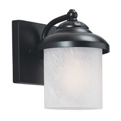 Sea Gull Lighting Yorktown Black LED Outdoor Wall Light