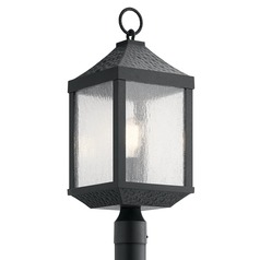 Kichler Lighting Springfield Distressed Black Post Light