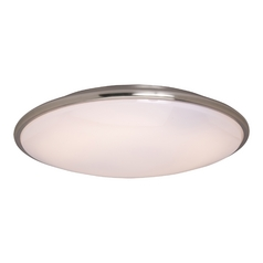 Maxim Lighting Rim Ee Satin Nickel Flushmount Light