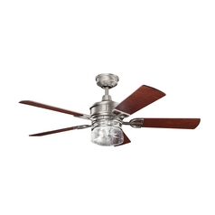 Kichler Lighting Kichler Lighting Lyndon Antique Pewter Ceiling Fan with Light 300120AP