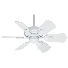 Casablanca Fan Wailea Snow White Ceiling Fan Without Light