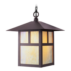Livex Lighting Montclair Mission Bronze Outdoor Hanging Light