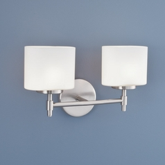 Norwell Lighting Moderne Brush Nickel Bathroom Light