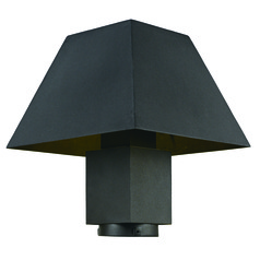 Maxim Lighting Pavilion Black LED Post Light