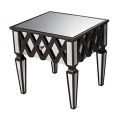 Sterling Lighting Mirror Coffee & End Table