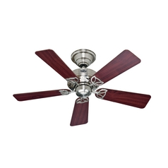 Hunter Fan Company Hudson Brushed Nickel Ceiling Fan Without Light