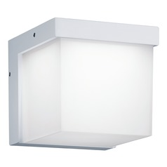 Arnsberg Yangtze White LED Outdoor Wall Light