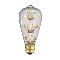 Starlight Decorative LED Light Bulb - Medium Base