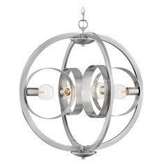 Hinkley Lighting Orson Brushed Nickel Chandelier