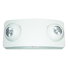 Emergency Lighting Unit - White Finish