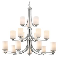 Satin Nickel Chandelier
