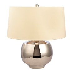 Hudson Valley Lighting Holden Polished Nickel Table Lamp with Drum Shade
