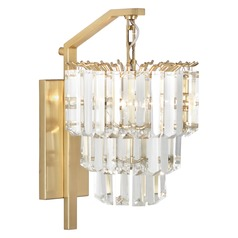 Robert Abbey Spectrum Antique Brass Sconce