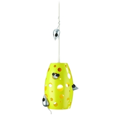 Philips Mini-Pendant Light with Yellow Glass 402813448
