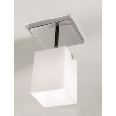 Illuminating Experiences Symmetry Semi-Flushmount Light
