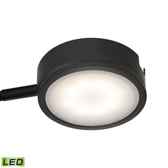 LED Puck Light Surface Mount 3000K Black by Alico Lighting