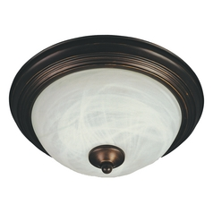 Maxim Lighting Flush Mount Ee Oil Rubbed Bronze Flushmount Light