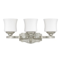 Capital Lighting Blair Antique Silver Bathroom Light