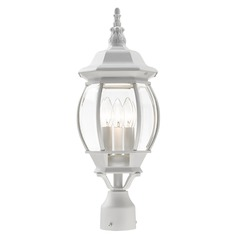 Livex Lighting Frontenac White Post Light