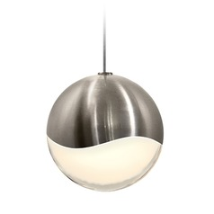 Sonneman Grapes Satin Nickel 1 Light LED Mini-Pendant Light