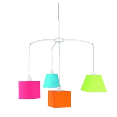 Philips Pendant Light with Multi-Tones Shades in Multi Color Finish 405095548