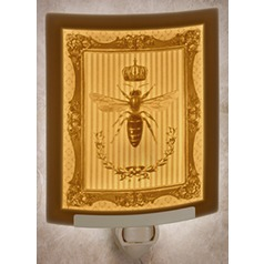 Porcelain Garden Lighting Queen Bee Night Light