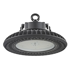 UFO LED High Bay Light Black 200-Watt 120v-277v 27840 Lumens 5000K 120 Degree Beam Spread