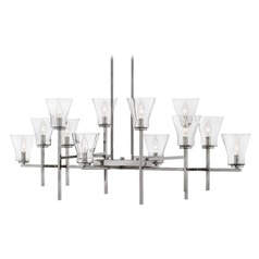 Hinkley Lighting Arden Polished Antique Nickel Chandelier