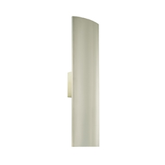 Modern Sconce Wall Light in Satin Nickel Finish