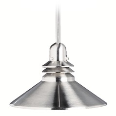 Marine / Nautical Pendant Light Brushed Nickel Grenoble by Kichler Lighting