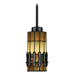 Mini-Pendant Light with Art Glass